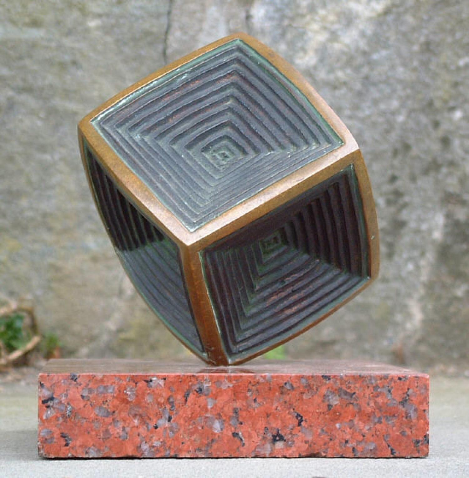 Oded Halahmy modern bronze sculpture