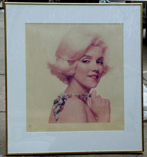 Marilyn Monroe photograph by Bert Stern limited edition