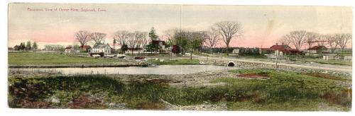 Post card Oyster River Old Saybrook CT
