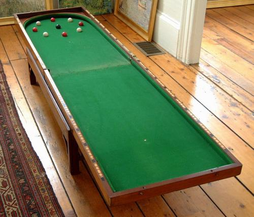 Antique French Billiards Game La Bagatelle Table