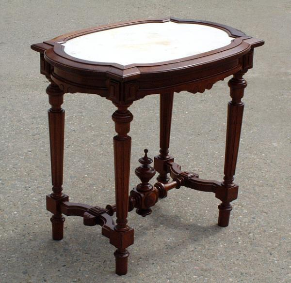 Price My Item: Value Of Antique Victorian Marble Top