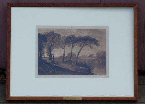 Hindu Worshippers by J W Turner Engraved by R Dunkarton