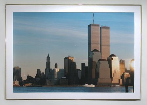 Photograph Twin Towers Manhattan trade center