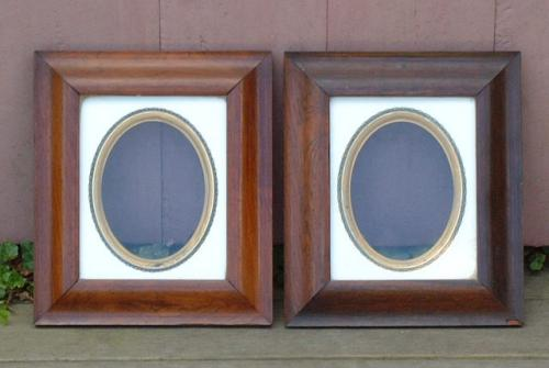 Antique Photographic Frames mid 19th century rosewood