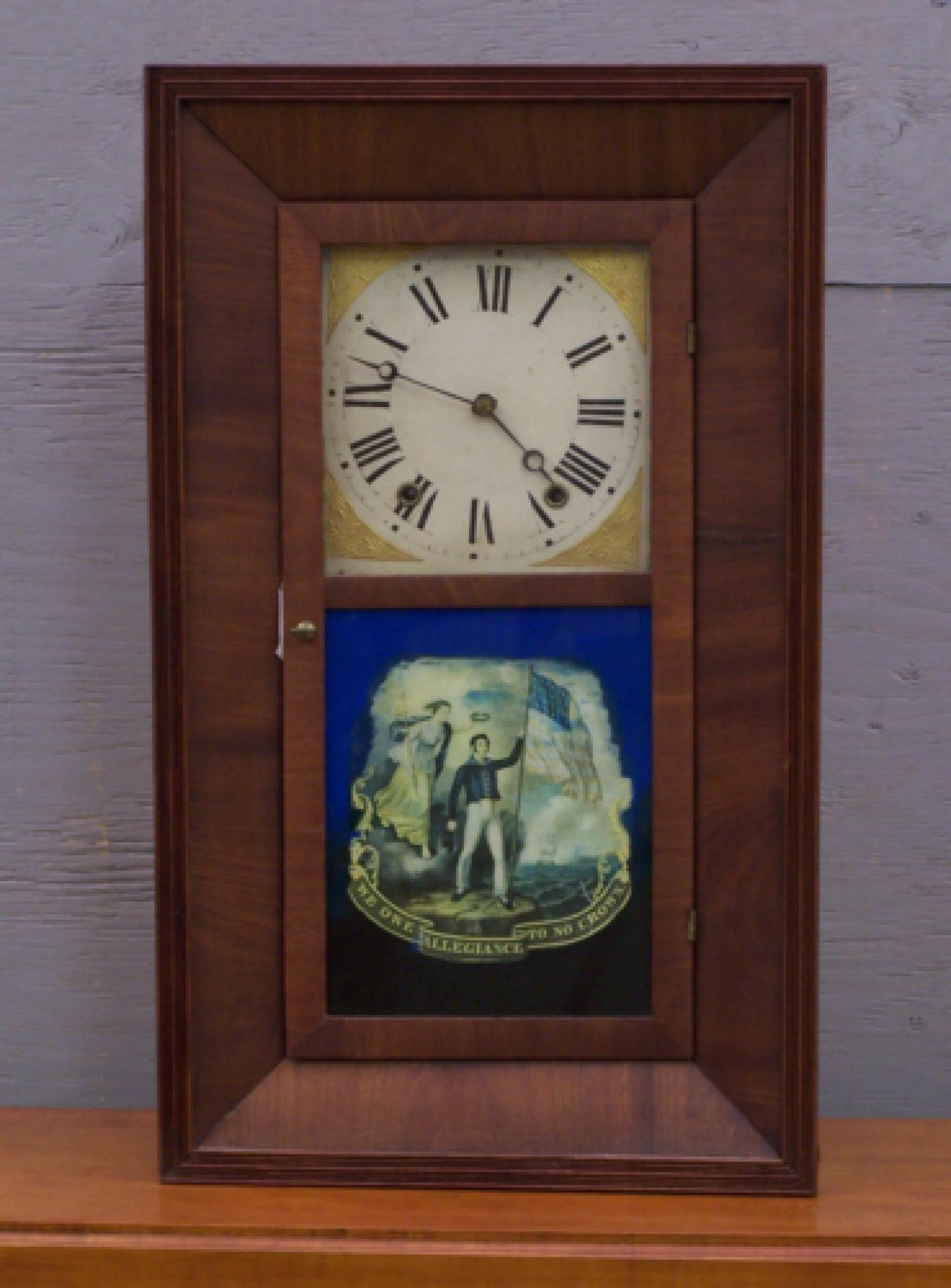 OG mantle clock Elisha Hotchkiss Burlington CT