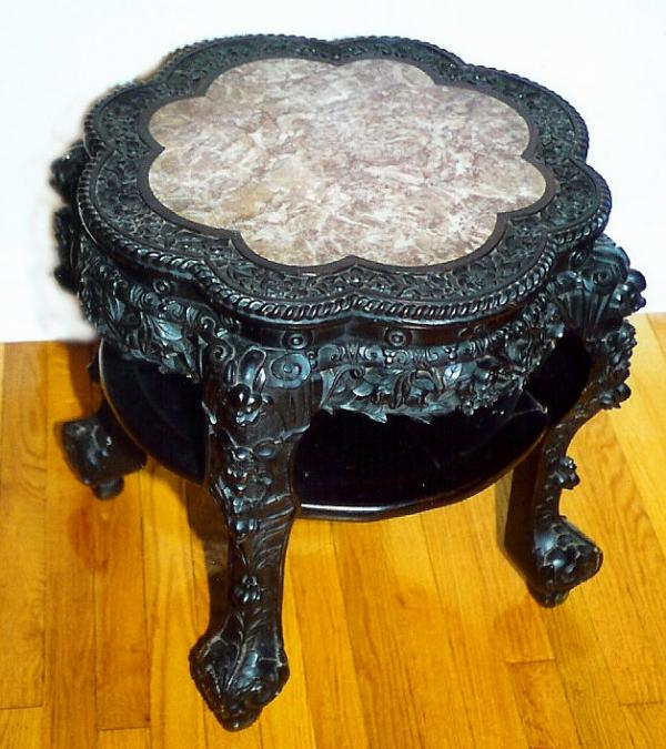 Price My Item Value Of Antique Carved Chinese Rosewood Table
