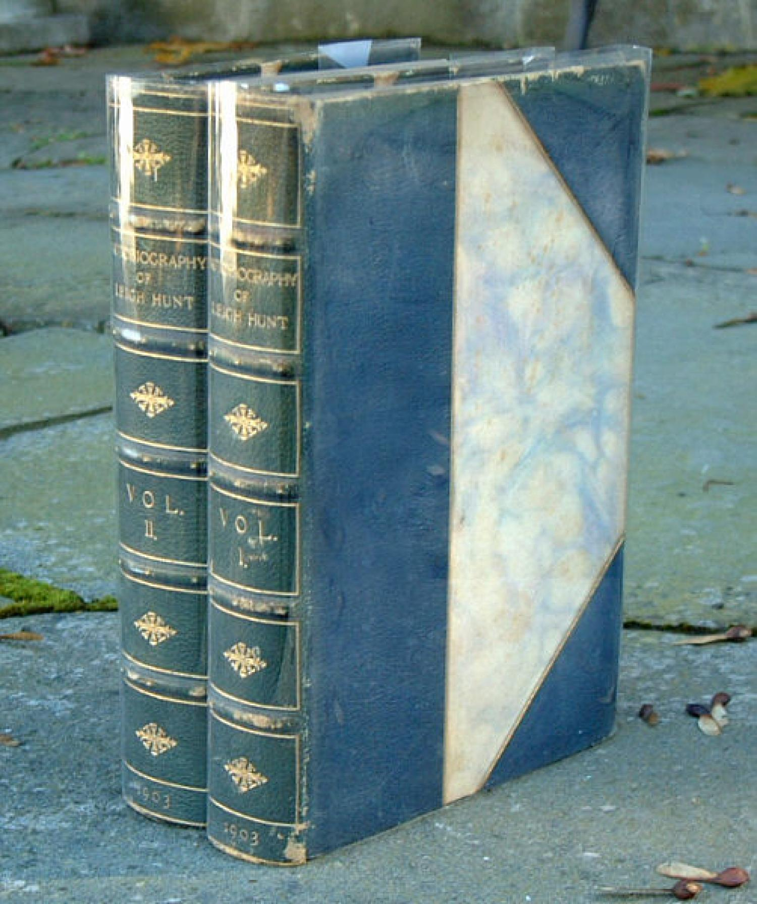 Autobiography Leigh Hunt 2 Volumes 1903