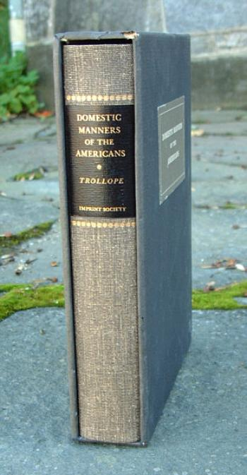 Image of Domestic Manners of the Americans Book by Mrs Trollope