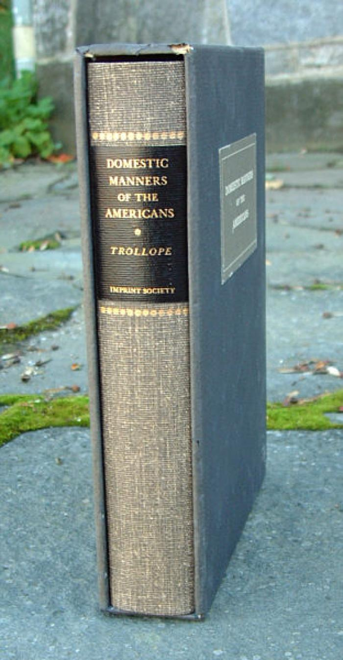 Domestic Manners of the Americans Book by Mrs Trollope