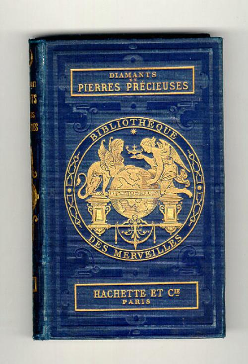 Antique book Diamants et Pierrres Precieuses