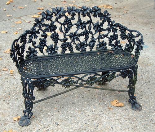 Price My Item Value Of Antique Cast Iron Victorian Garden Lawn Bench