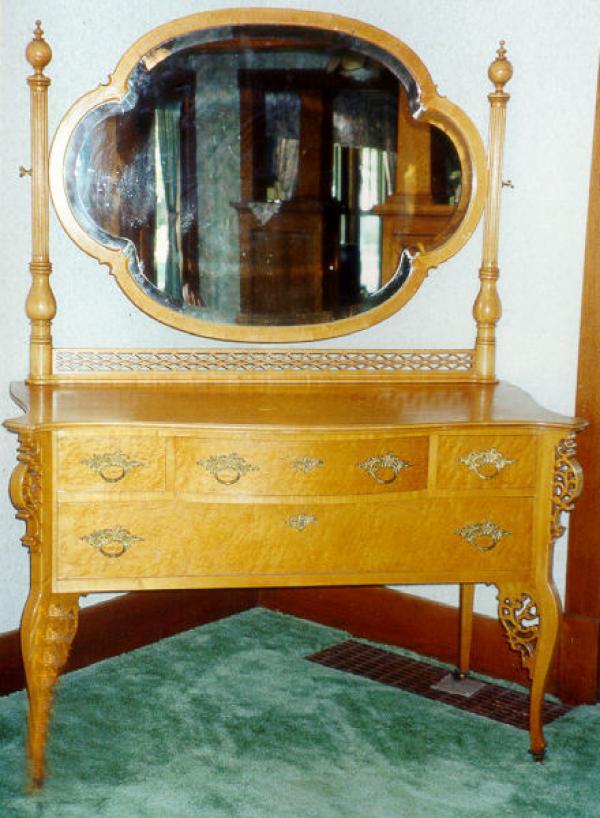 Price My Item Value Of Victorian Birdseye Maple Dresser