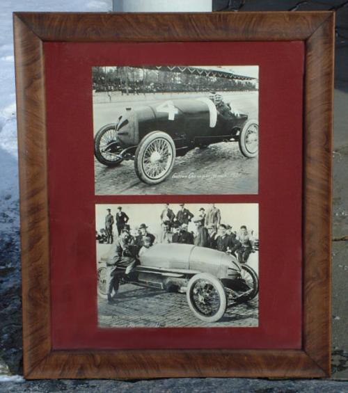 Vintage photographs Gaston lewis Chevrolet 1920 1921