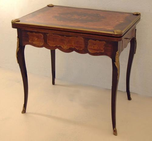 Price my item value of antique french inlaid and for Furniture valuation guides