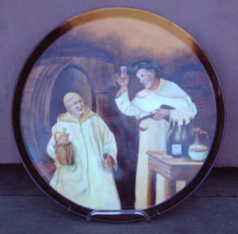 Antique Tressemanes and Vogt France Limoges Platter