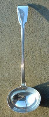 Antique sterling silver ladle