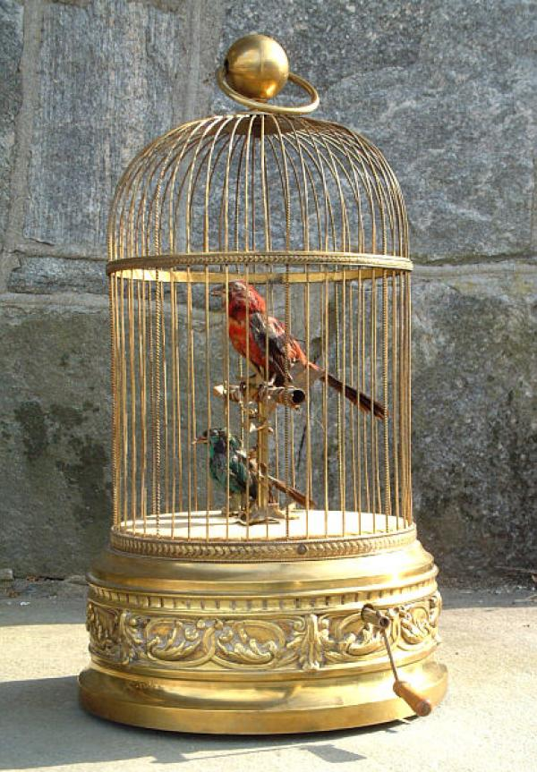 Price My Item Value Of Antique French Brass Bird Cage