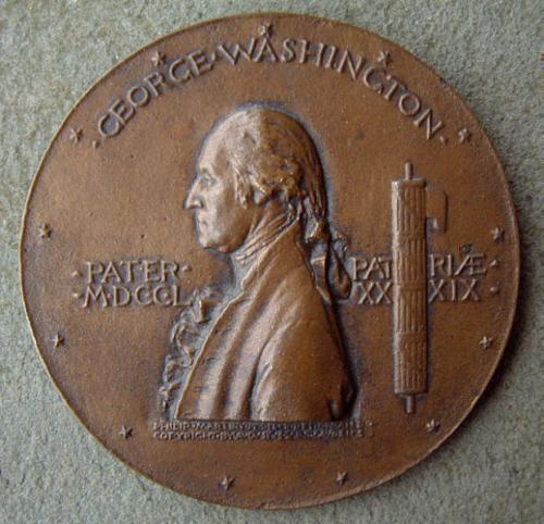 George Washington Commemorative Medal