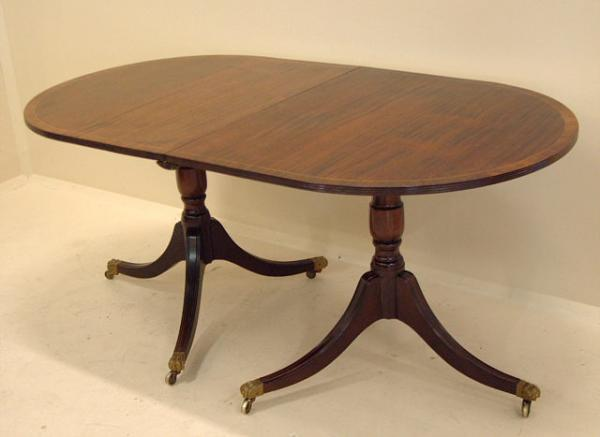 price my item value of antique duncan phyfe dining table in mahogany. Black Bedroom Furniture Sets. Home Design Ideas