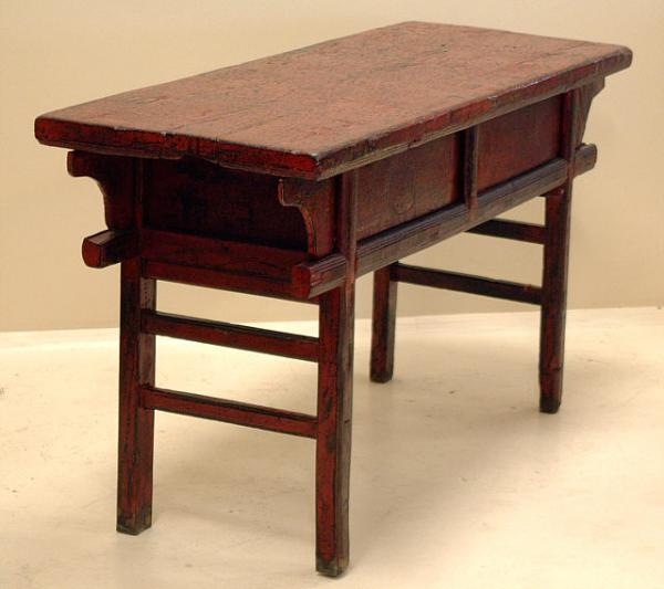 Price my item value of antique chinese furniture painted for Sideboard fa r wohnzimmer