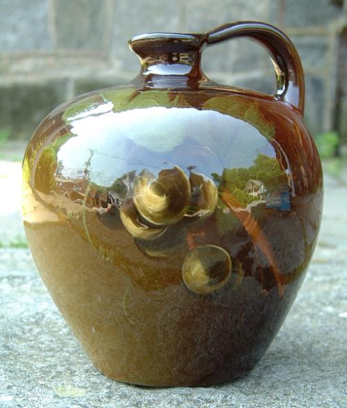 Rare Louwelsa Weller Art Pottery Jug