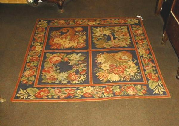 Price My Item Value Of Antique French Needlepoint Rug