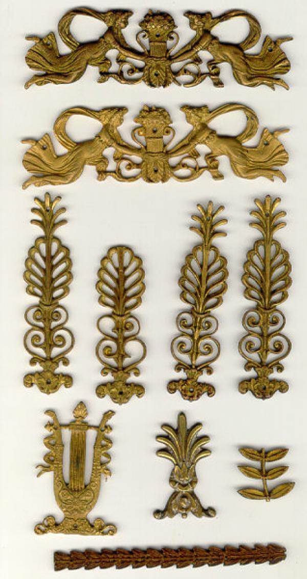 Period French Bronze Decorative Furniture Hardware