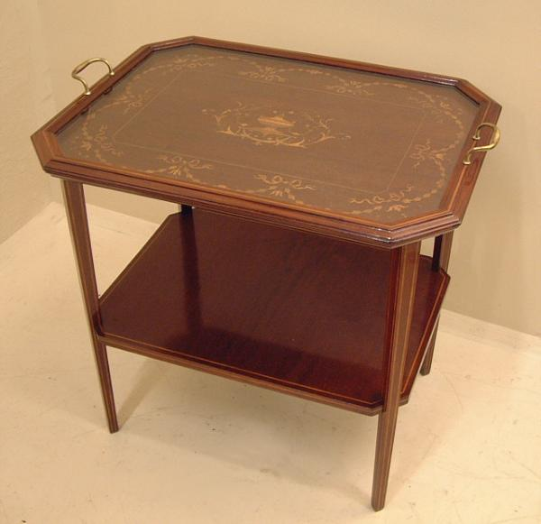 Price my item value of flint fine furniture tray top for Furniture valuation guides
