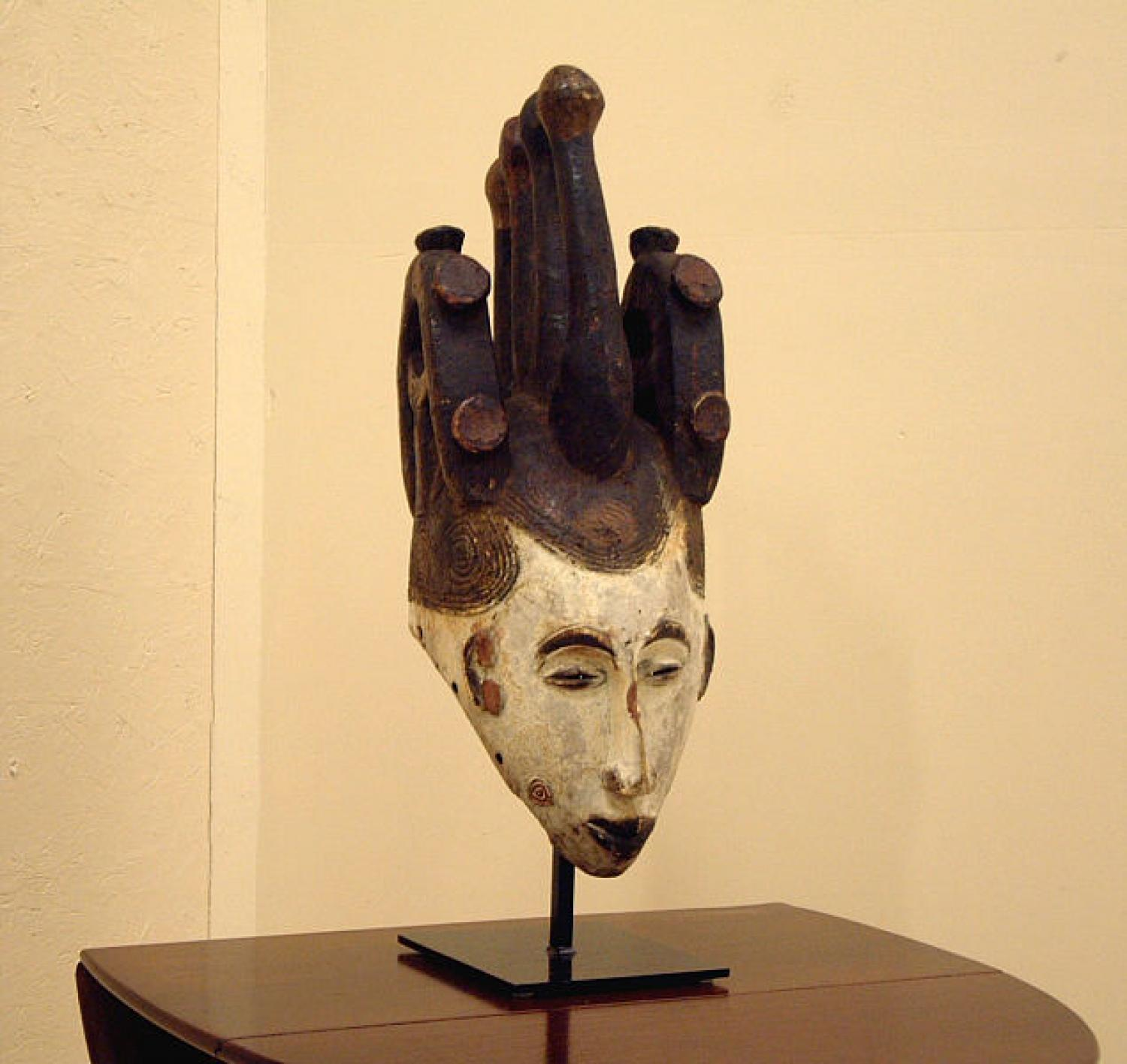 African Ibo tribal mask