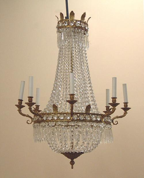 Price My Item Value Of Antique French Hanging Crystal