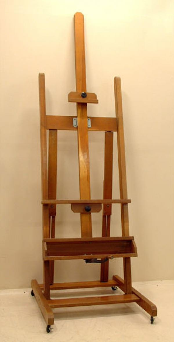 price my item value of vintage artist painting easel