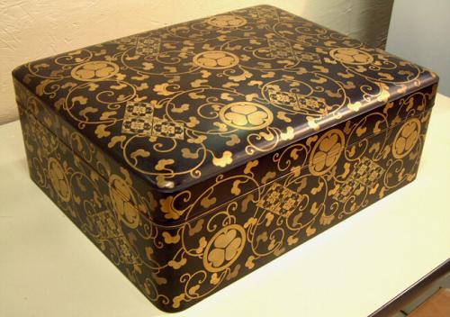 Japanese Edo Lacquer document box c1865
