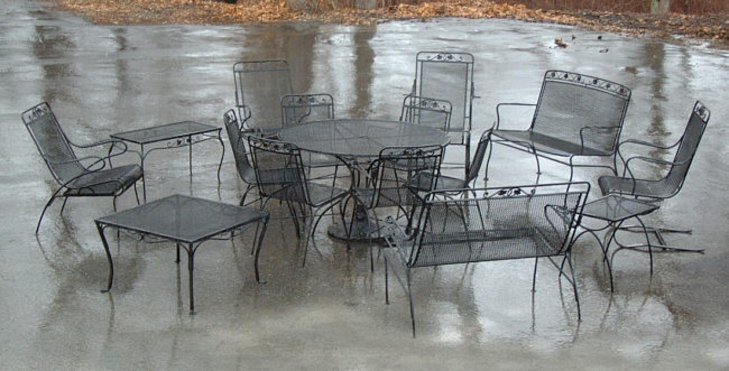 Salterini Wrought Iron Patio Furniture