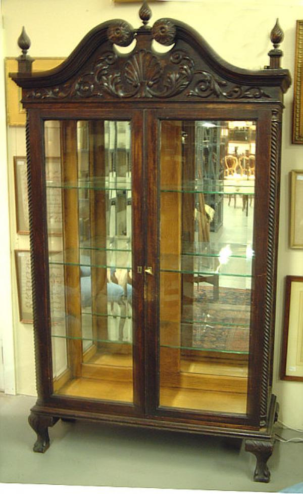 Price My Item Value Of Victorian Oak Double Door China
