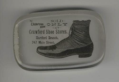 Price my item value of antique crawford shoe store paper for Jewelry stores in hartford ct