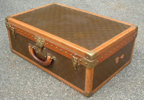 Louis Vuitton antique travel trunk