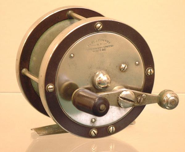 Price my item value of thos j conroy salmon fishing for Antique fishing reels price guide