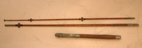 Price my item value of antique bait fishing rod abbey for Old fishing rods worth money