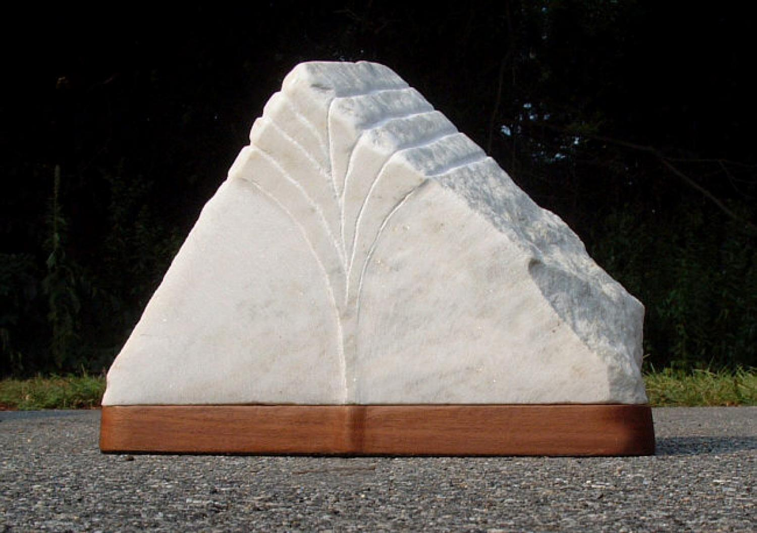 David Kintzler Delta marble sculpture
