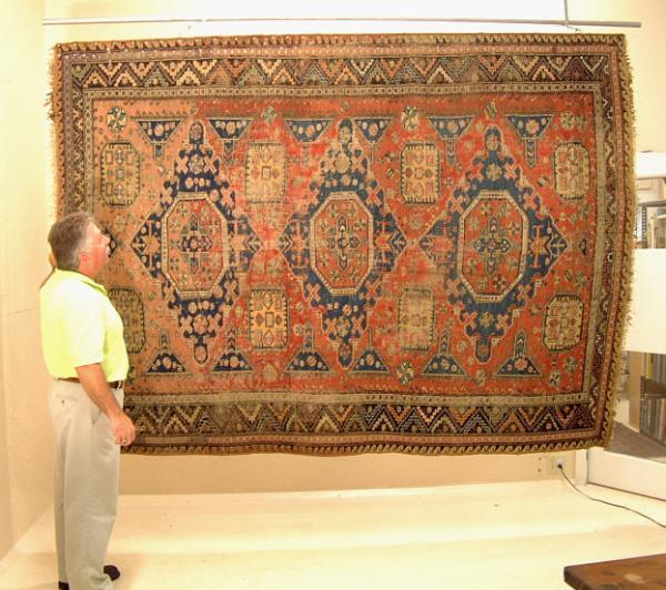 Antique Killim Sumac Kilim Oriental Floor Rug C1880