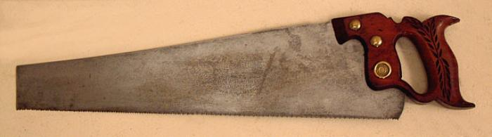 Antique Carpenters Hand Saw Hand Crafting Tools