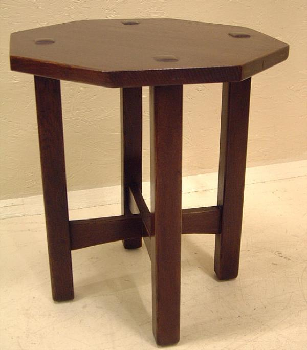 Price my item value of l and jg stickley arts and crafts for Arts and crafts side table