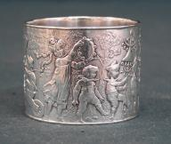 Tiffany Co sterling silver childrens napkin ring c1890
