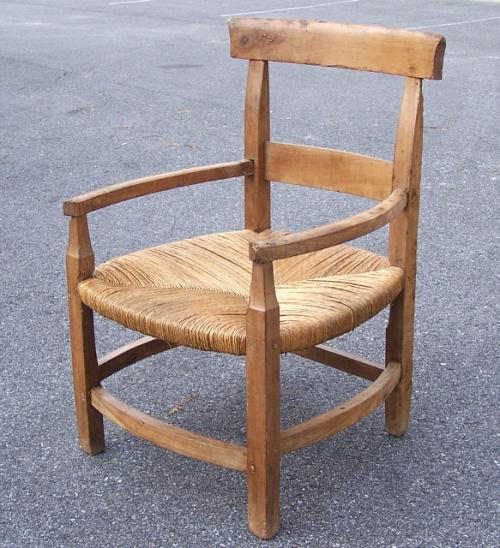 Period Antique French Country Farm house Chair c1780