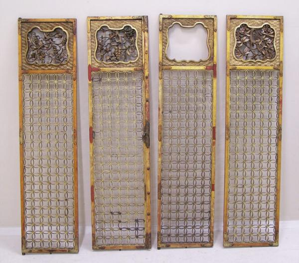 Price my item value of set antique matching chinese for R value of old wood garage door
