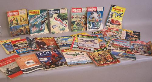 Airtrails Skyways Bill Winters model Aircraft magazines 1950 period
