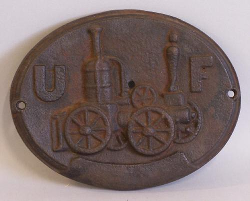United Firemens Insurance Company Philadelphia plaque c1860