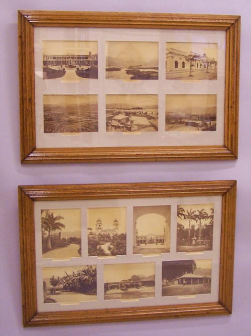 Thirteen photogravures of Venezuela Caracas Valencia Puerto Cabello