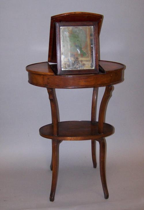 French Beau Brummel vanity with mirror c1820