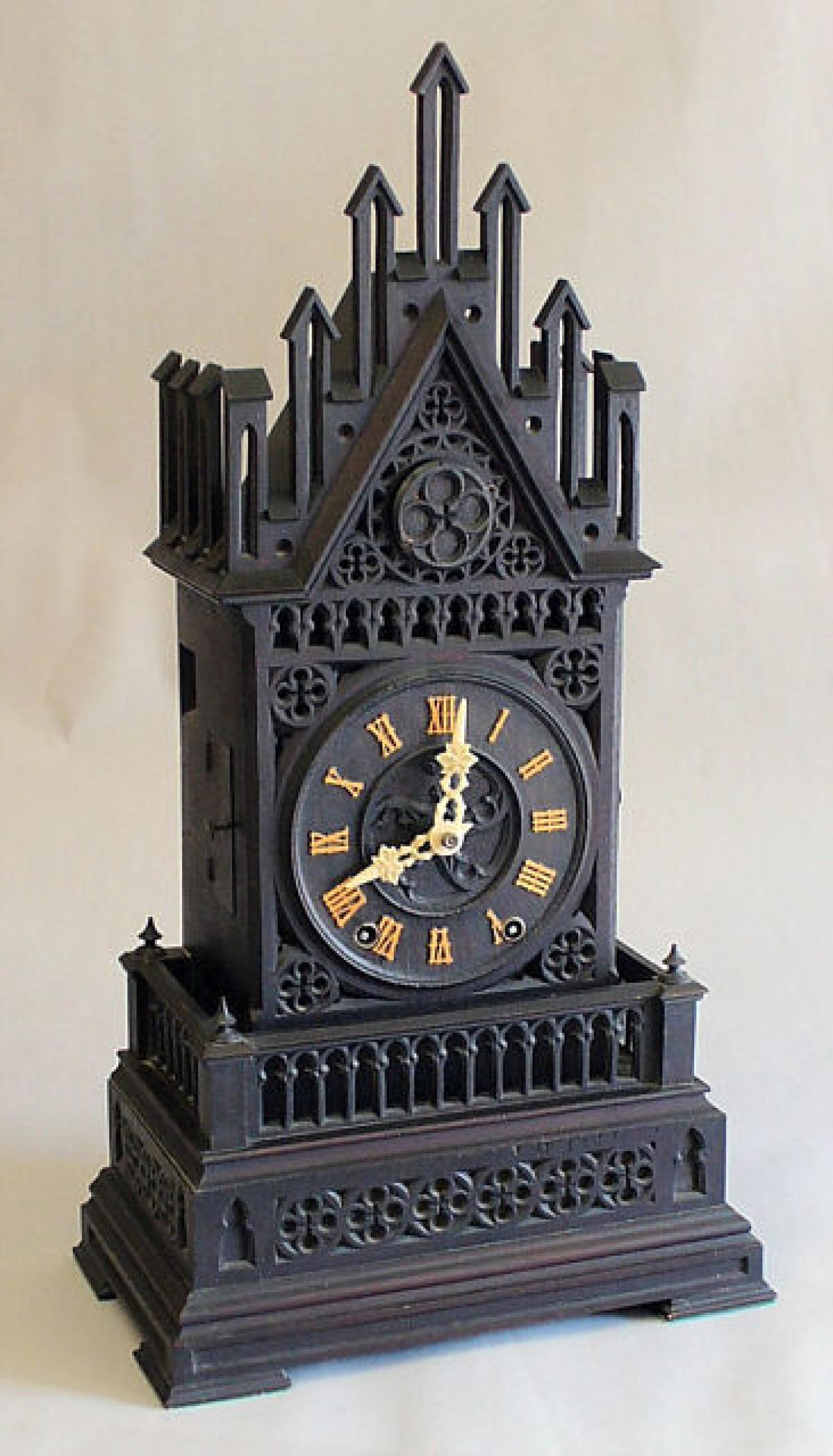 Antique shelf cuckoo clock Germany circa 1850